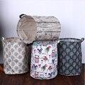 Lavado ropa sucia organizador de ropa para el hogar armario 35*45 cm cesta de lavandería Almacenamiento de lino LU11231116