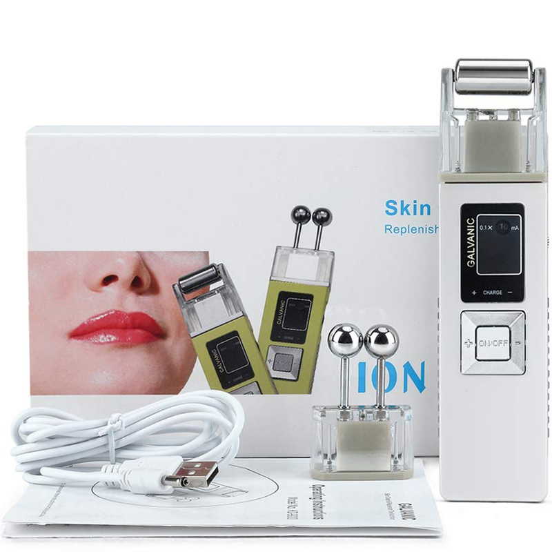 Ion Galvanic Microcurrent Skin Firming Machine Skin Care Wrinkle Removal Facial Massager Skin Care SPA Salon