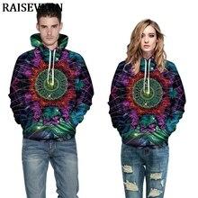 Colorido de Mandala flor sudaderas con capucha 3D impresión Sudadera con capucha suéter chándal de otoño de los hombres de las mujeres Homme Jersey