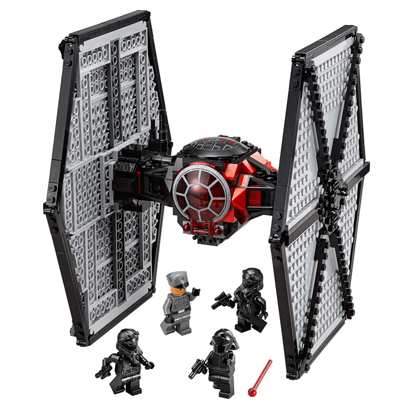 562Pcs Star Wars The Force Awakens First <font><b>Order</b></font> Special Forces TIE Fighter Model Building Kits Blocks Bricks Toy Compatible Gift