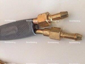 Image 4 - شعلة لحام عالية الجودة من النوع الياباني أدوات لحام غاز الشعلة الأكسجين الأسيتيلين المحمولة مسدس لحام البروبان