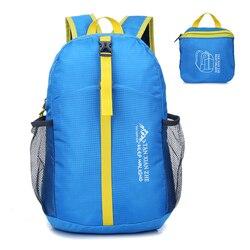 Klapp Rucksack Leichte Nylon Faltbare Rucksack Wasserdichte Rucksack Reisetasche Outdoor Tasche für Frauen Männer Reise Wandern