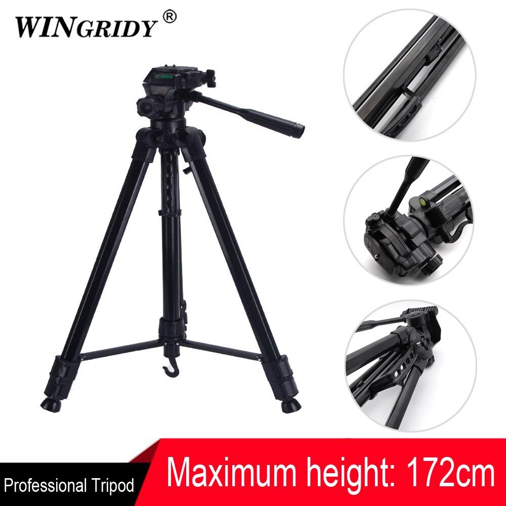 WINGRIDY SL 3600 Профессиональный портативный легкий дорожный алюминиевый штатив для камеры с панорамной головкой для смартфона SLR DSLR Digital Camer