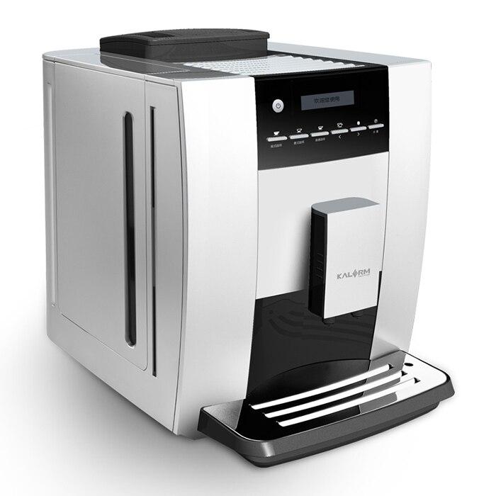 を Kalerm KLM 1602 フル自動コーヒーマシンエスプレッソコーヒーメーカーポンププレス機淹れた cafetera|espresso coffee maker|coffee machinemachine espresso -