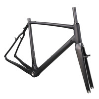 ICAN Big discount carbon T700 cyclocross frame v brake type UD matt or glossy all available with BSA/BB86 Di2 compatible