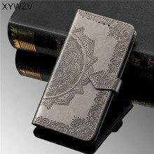 For Samsung Galaxy M20 PU Case Luxury Flip Wallet Soft Silicone Card Holder Fundas