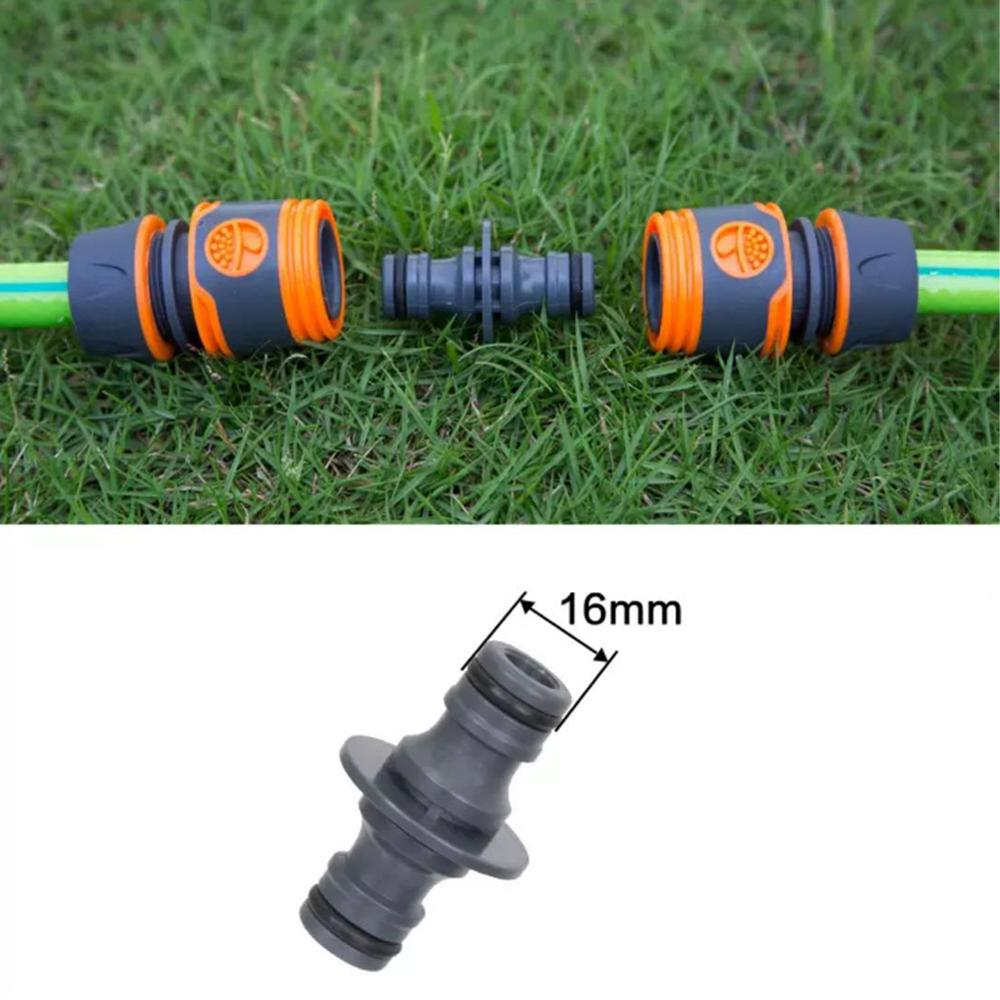 "1/2"" 3/4"" 16mm Hose Quick Connector Valve with Water Tap Splitter Hose Extension Irrigation AgricultureThree Way Connectors Qui"