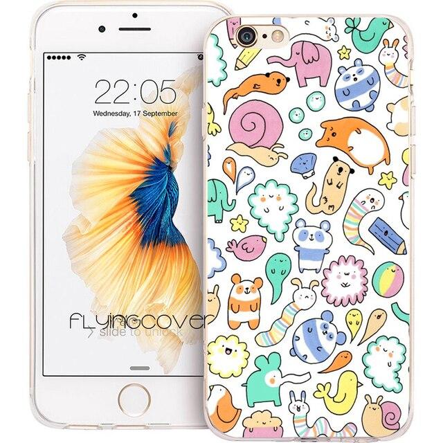 coque iphone 6 doodle