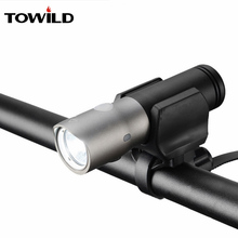 TOWILD 1100 Lumens Bicycle bike Headlight Waterproof MTB Cycling Flash Light Front LED Torch Power bank accessories