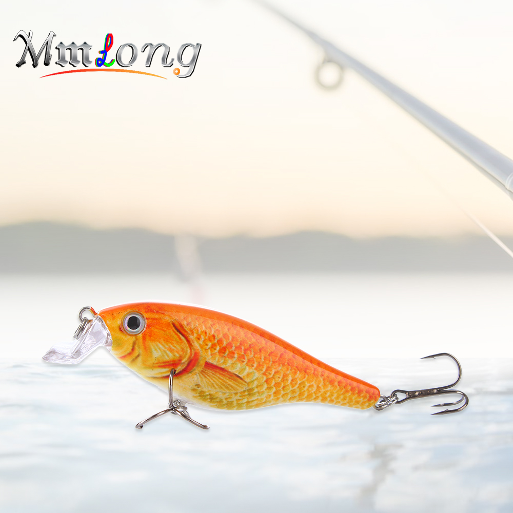 Mmlong 8cm Artificial Fishing Lure Crankbaits SAH10 11.3g Special Curve Lip Baits Fish Hooks Floating Wobblers Fish Tackle Pesca