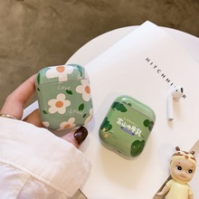 cute kawaii fuji cows milk case for Airpods lovely japanese cartoon flower wonderful Apple Airpods2 bluetooth earphone