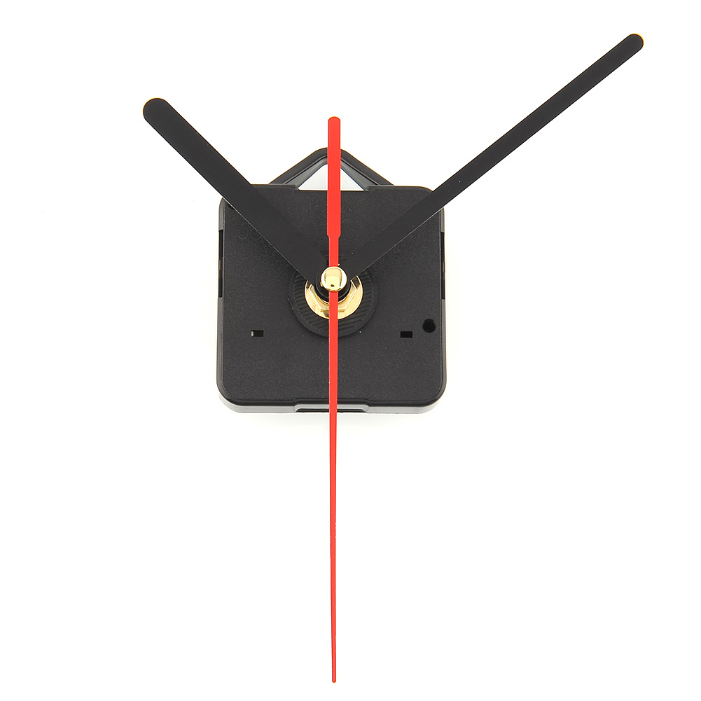 Wall Clock Quartz Tools Clock Movement With Black And Red Hands Quiet Useful Practical For Decor Decoration DIY