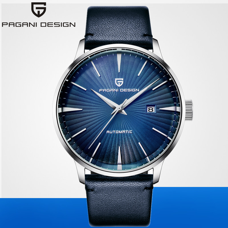 2019 PAGANI DESIGN de luxe marque montre hommes affaires Sport automatique mécanique en cuir étanche montres horloge Relogio Masculino