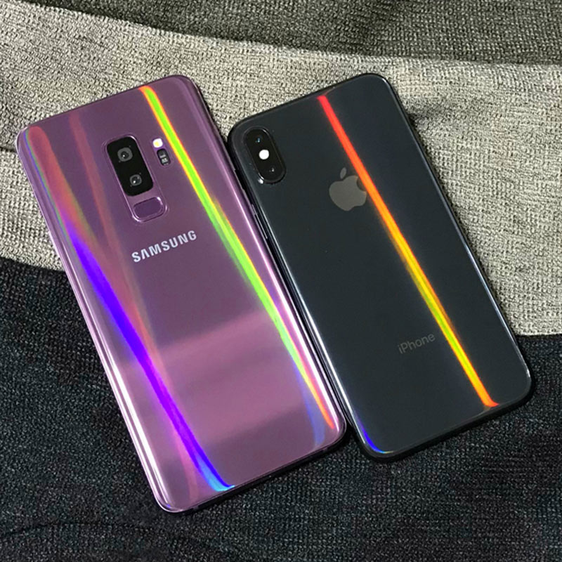 BFOLLOW Aurora Soft Back Film For Samsung Galaxy S8 S9 Plus / Note 8 9 10 Plus Anti Scratch Screen Protector