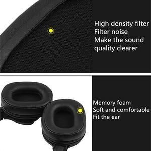 Image 5 - เปลี่ยนแกะหนังแผ่นรองหูฟังสำหรับ Audio technica ATH MSR7 ATH M50x สำหรับ SONY MDR 7506 MDR V6 9.17