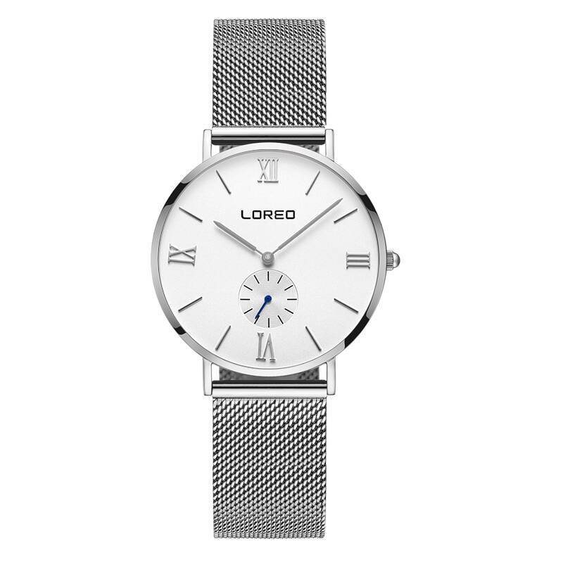 LOREO 5108 Germany bauhaus watches lover luxury brand Minimalism sapphire crystal stainless steel 30m water resistant bauhaus
