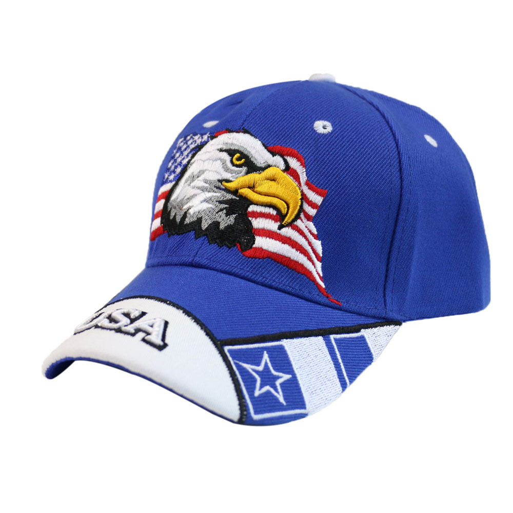 Winfox Vintage Embroidery Baseball Cap Snapback Women Men Eagle USA Flag Print Snapback Caps Casquette Hats Fitted Casual Gorras in Women 39 s Baseball Caps from Apparel Accessories