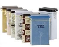 AIBEI ZAKKA Retro Tea Pot 2PCS SET Coffee Sealed Cans With Cover Storage Tin Box Sugar