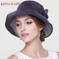 100% Natural Mulberry Silk Hats for Women Ladies Luxury Quality Sun Hats Party Elegant Caps Female Summer Beath Hats Anti uv