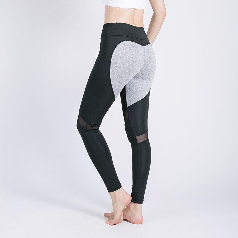 Image 4 - Kaminsky 2019 Women Fashion Gothic Push Up Ladies Mesh Pants Love Heart Black Leggings Casual Pants High Waist Sexy Leggings-in Leggings from Women's Clothing