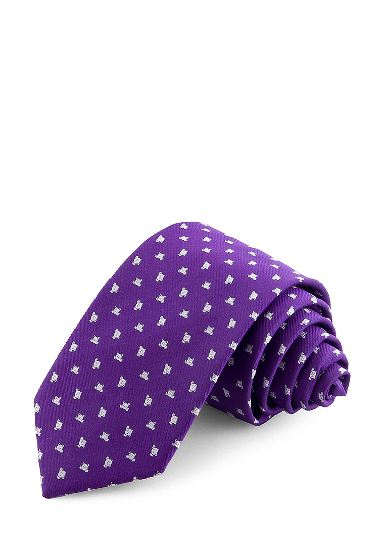 [Available from 10.11] Bow tie male CARPENTER Carpenter poly 7 siren 512 1 192 Lilac casual scrawl flowers pattern tie pocket square bow tie