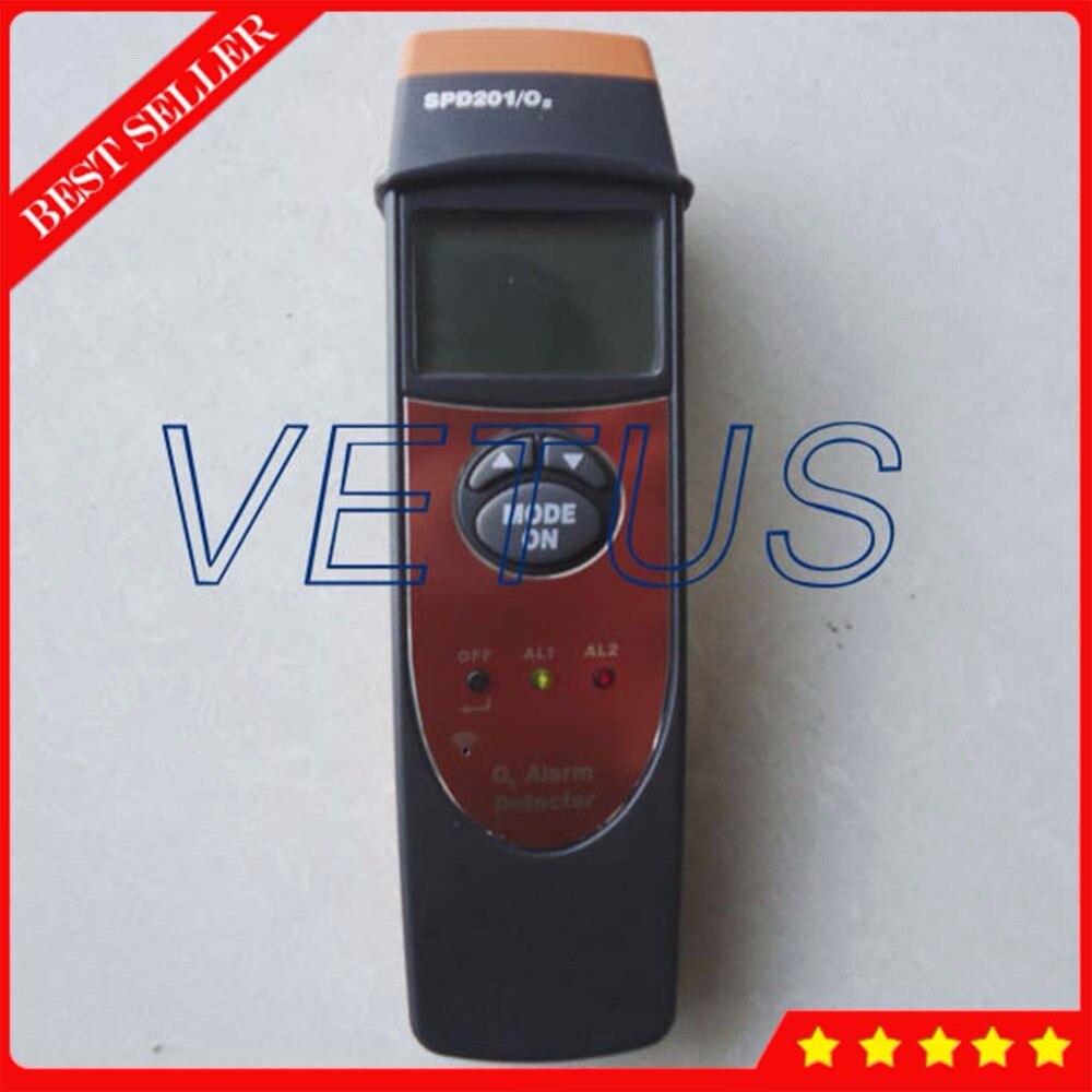 Détecteur d'oxygène Portable SPD201 avec analyseur o2 numérique 0 ~ 25% VOL