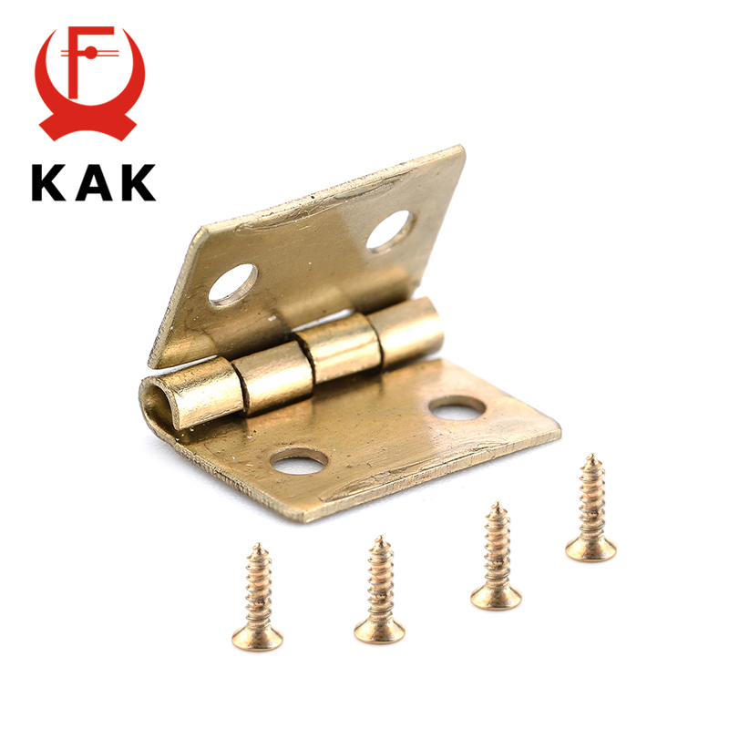 13*12mm Mini Hinges Antique Jewelry Cigar Gift Box Dollhouse Hinges Decorative