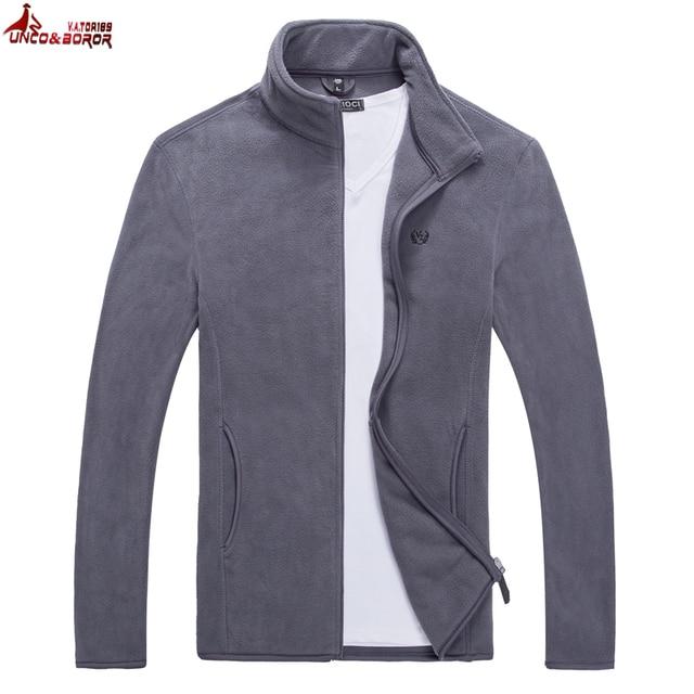 UNCO&BOROR New Mens Softshell Tactical Casual Jackets Men Warm Sweatshirt Outerwear Men's Jackets and Coats Jaqueta Masculina