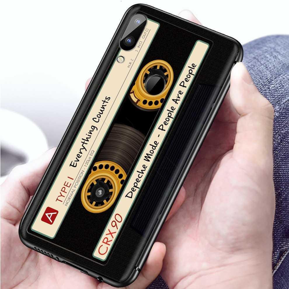 Lavazza oryginalny Retro kaseta magnetofonowa obudowa do xiaomi Redmi Note 8 8A 7 6 6A 5 5A 4 4X 4A Go Pro Plus Prime