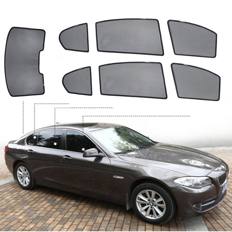 For BMW 3 series E90 Car Sun Visor Cover Sunshade Curtain UV Protection Shield Sunshade Window Protector Automobile Sun Shade image