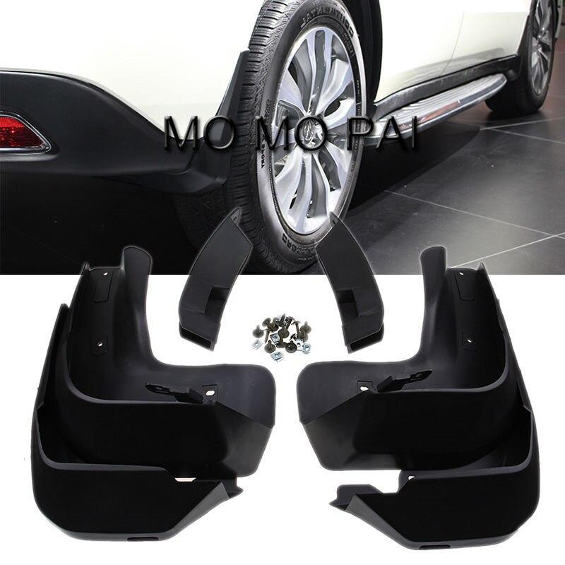 ФОТО  Mud Flaps Fit for Acura MDX 2014 2015 Car Splash Guard Mud Flaps Front Rear Mudguards 4 pcs / Set MO MO PAI