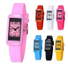 Reloj Mujer Ceasuri Для женщин модные спортивные часы hodinky Для женщин женская одежда желе кварцевые наручные часы силиконовые Повседневное наручные часы