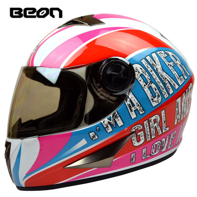 Brand BEON B500 Full face helmet Women's Classic Motorcycle helmets Motociclistas capacete Men's Kart racing helmet ECE Approved polka dot 2 pcs girls clothing sets kids clothes t shirt leggings pants baby kids cute cartoon suits children clothes tops suit