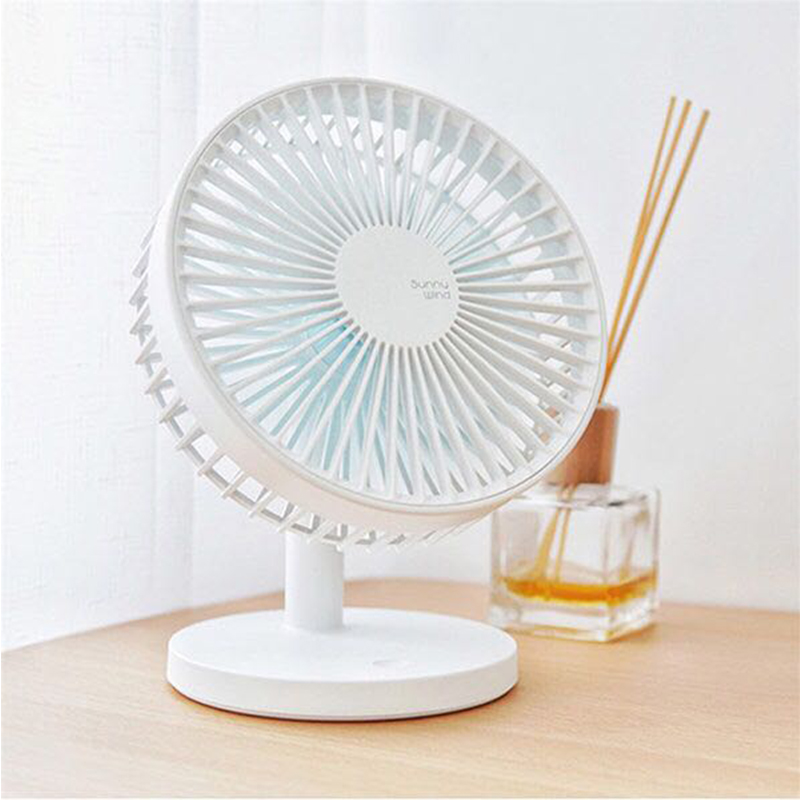 Rotatable Hand Fans Battery Operated 2000mah Rechargeable Mini Fan Electric Personal Fans Hand Bar Desktop Fan usb fan mini electric personal fans led portable rechargeable desktop fan battery cooling operated fan