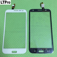 White HIgh Quality W7 Touch Panel Front Glass Touch Screen Digitizer For THL W7 Cell Phone