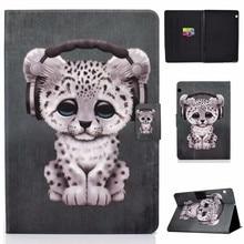 цены Cute Cartoon Case for Huawei MediaPad T5 10 Ultra Slim PU Leather Flip Stand Cover Funda for MediaPad T5 AGS2-W09 L09 L03 W19