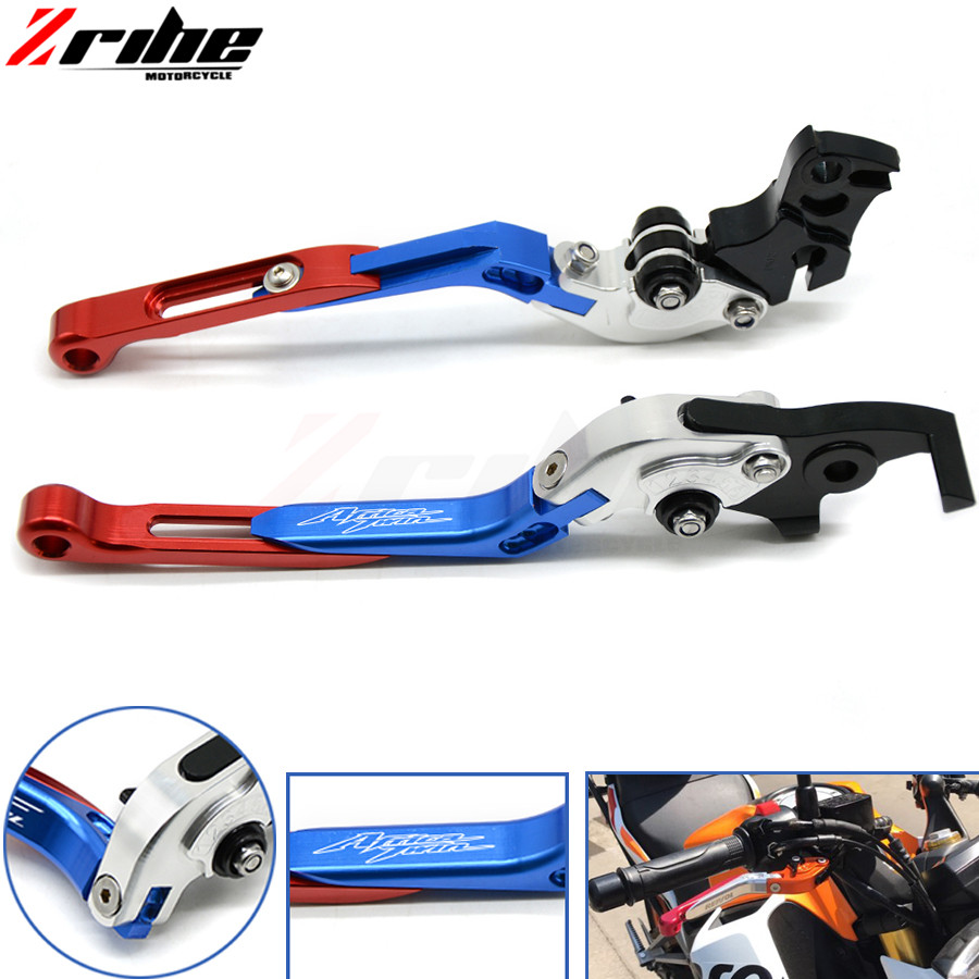 Adjustable Folding Extendable Motorcycle Brake Clutch Lever For HONDA CRF1000L CRF CRF1000 1000L 2015 2016 2017 Africa Twin 201 motorcycle rearview mirror motorbike rear view mirrors universal motocross for honda crf1000l crf 1000l africa twin 2015 2017