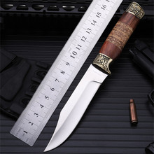 2016 Sale Rushed Navajas Outdoor Small Straight Knife Self-defense Wild Wilderness Survival The Folding Fruit Cutter With Figure navajas new sale 2016 outdoor folding knife self defense wilderness survival with hardness wild fruit plum blossom
