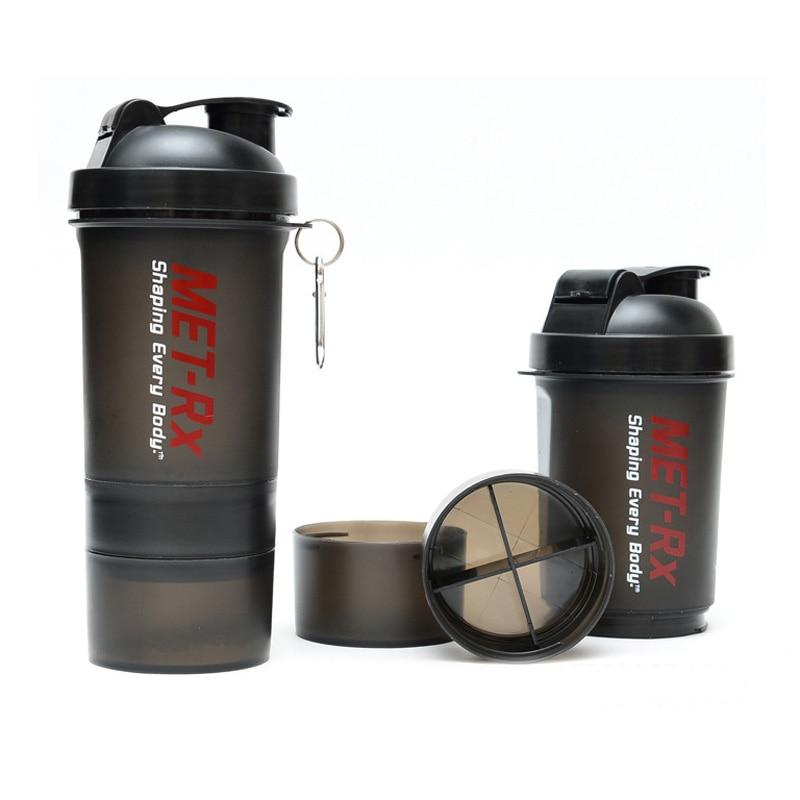 Water Bottle Blender: High Quality Whey Protein Shaker Bottle Plastic Drink