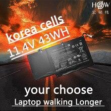 HSW  11.4V 43WH Battery NP03XL for HP Pavilion X360 13-A010DX TPN-Q146 TPN-Q147 TPN-Q148 HSTNN-LB6L 760944-421  bateria