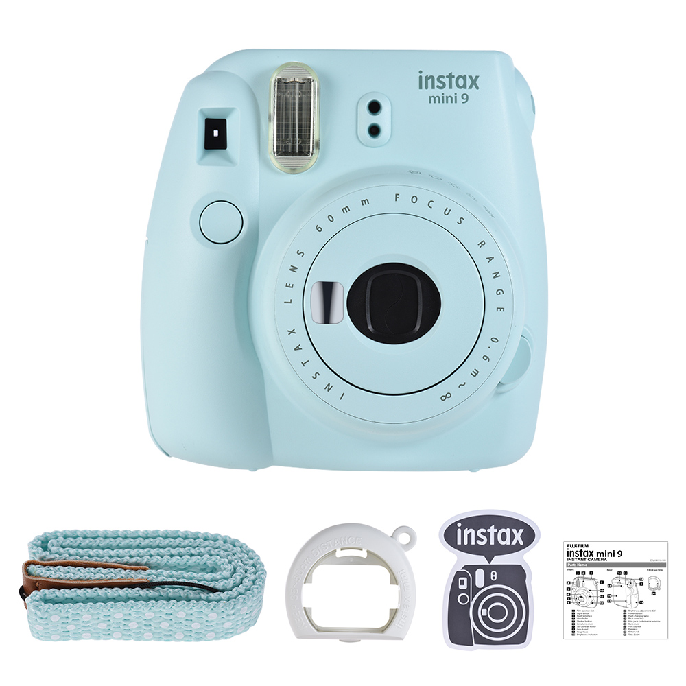 Medium Crop Of Polaroid Camera Target