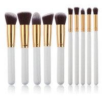1Set High Quality Makeup Brushes Kit Professional Make Up Blush Eyeliner Lip Brushes Beauty Cosmetics Tools