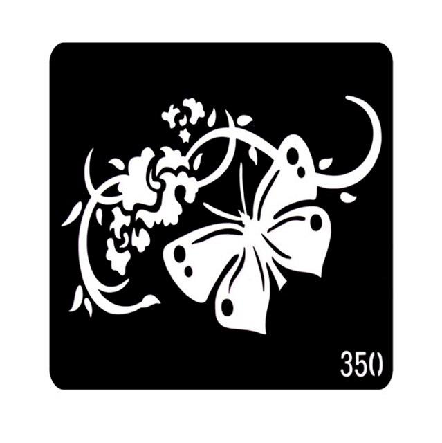 One Piece Glitter Tattoo Stencil Neck Tattoos Designs Henna Tattoo Stencil Templates For Painting Plantillas Tatuajes T001-350EE