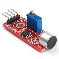 Módulos de Amplificador de microfone AVR PIC de Alta Sensibilidade do Sensor de Detecção De Som Módulo PCBA Eletrônica de Peças de Montagem Chips para amplificador operacional    -