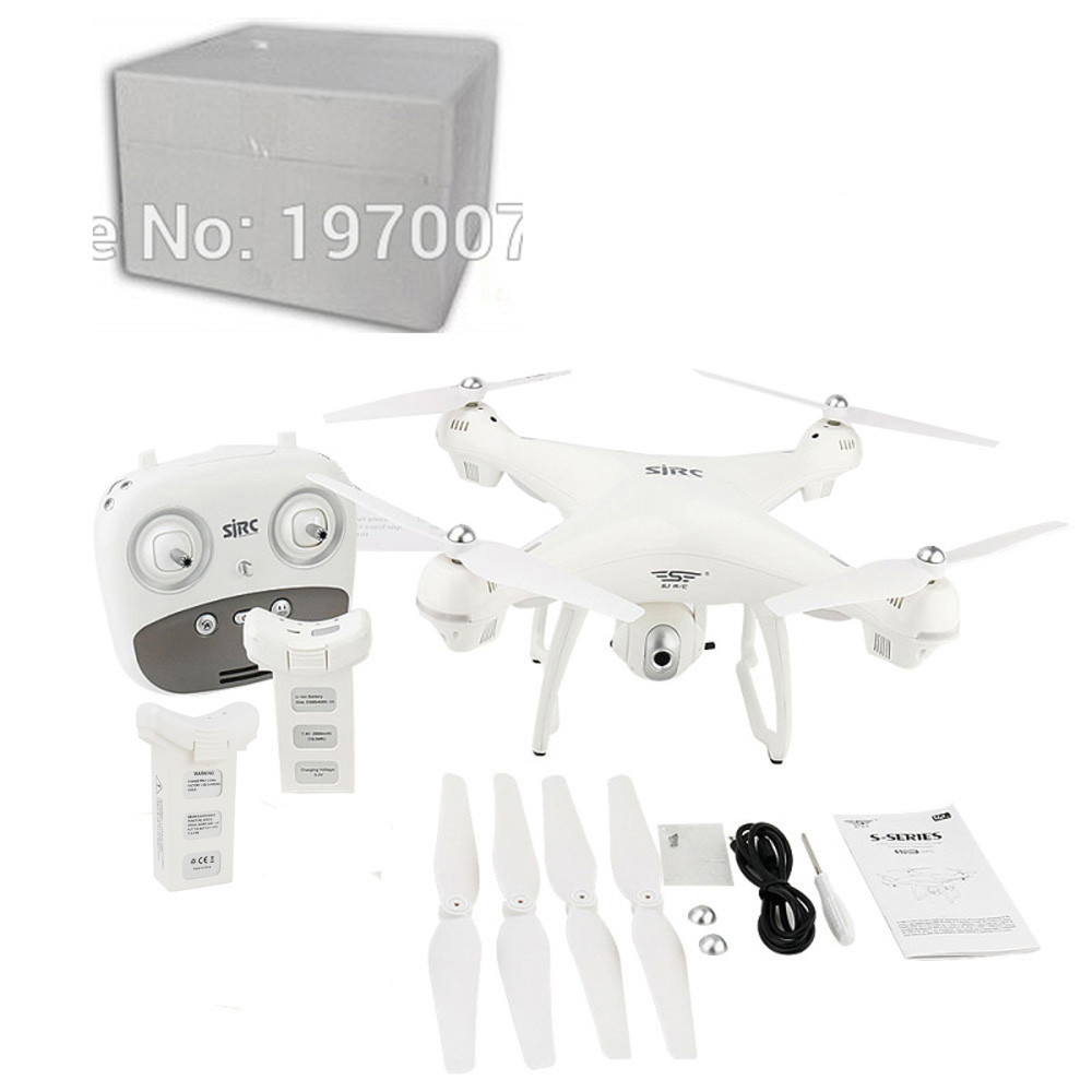S70W 2.4GHz GPS FPV Drone Quadcopter with 1080P HD Camera Wifi Headless Mode May18 все цены