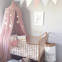 2017 Nordic Party Supplies Children Room Dome Bed  Decorations Play Tent Cotton Tipi and Mosquito Net Play House for Baby Room недорого
