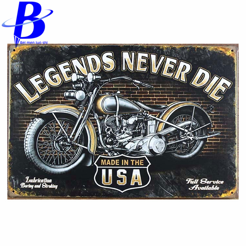 Vintage Tin Signs metal poster retro home decor House Cafe Vintage Bar metal wall art M-51 Mix order 20*30 CM Free Shipping