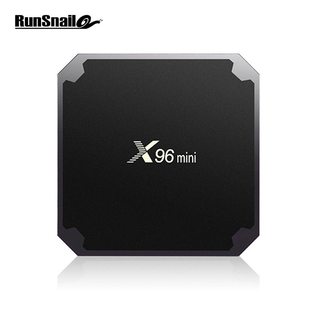 X96 mini Smart TV BOX Android 7.1 2GB 16GB Amlogic S905W Quad Core 2.4GHz WiFi Media Player 4K 30tps set top Box 1GB 8GB X96mini цены