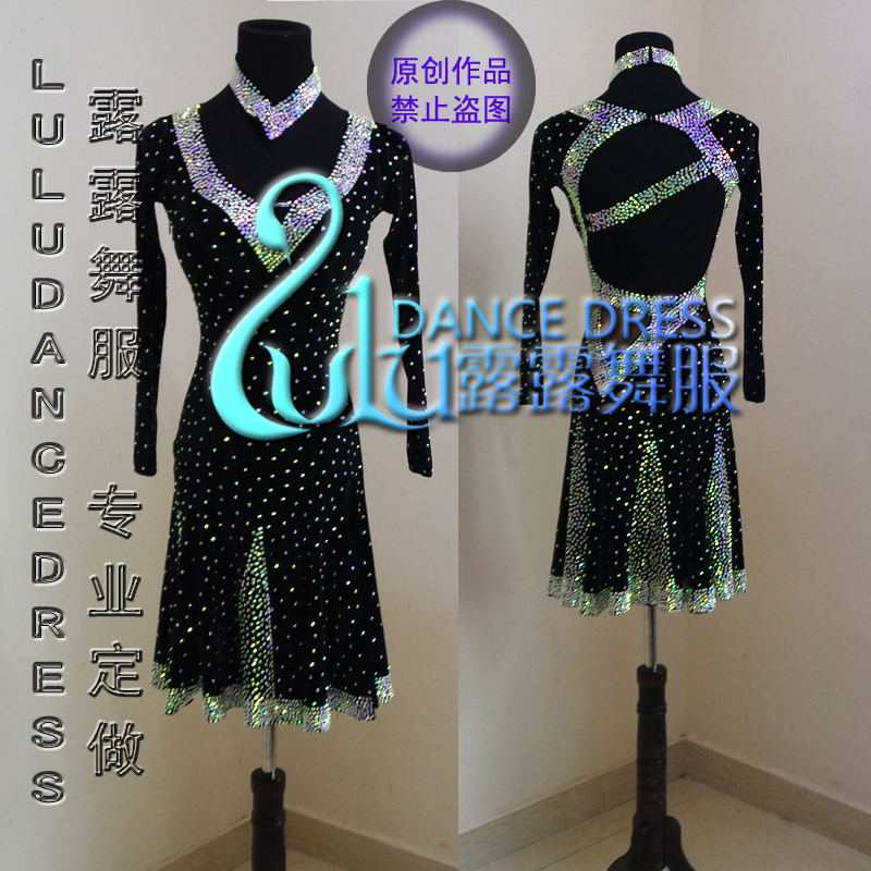 Vrouwen latin dance dress vrouwen stijldansen dress latin dans kostuum dans latin dress tango dress samba rokken,
