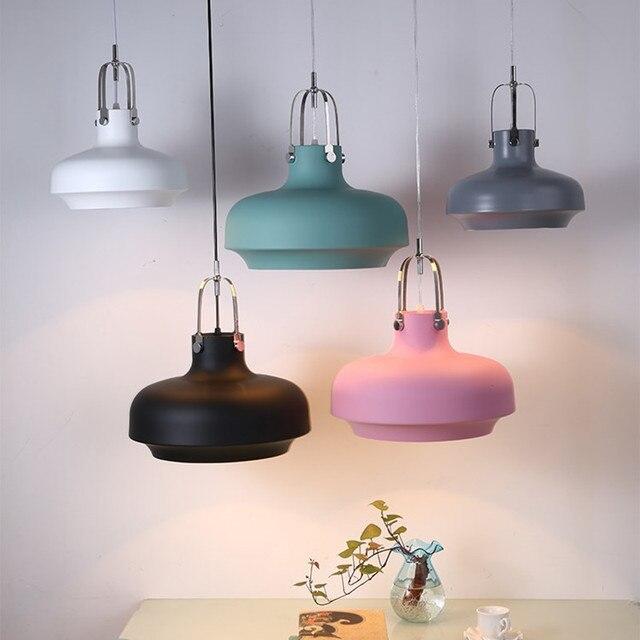 Copenhagen Pendant Lamp Modern Art Deco Hanging Lamp Home Lighting Single Head Metal Kitchen Pendant Lamps